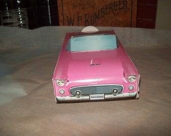 Retro  Vintage Hot Pink 56 T-Bird  Food Box,Popcorn Box Kids Brithday Party Set of 5