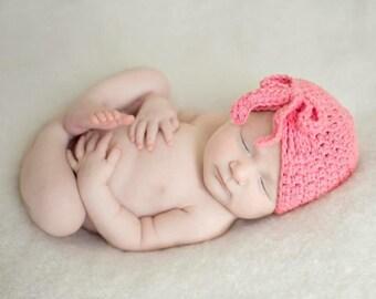 baby girl hat, newborn girl hat, crochet girls hat, girls hat, newborn girls hat, little girl hat, pink hat