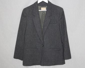 Vintage Gray Pendelton Blazer