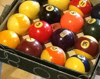 Billiard Balls Aramath Brunswick Belgium Pool