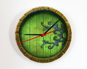 Wall clock - Hobbit door - Photo clock - Lord of the Rings - Personalized Wall Clock