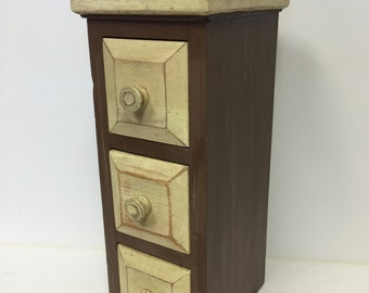Wood box, wooden box, wood box with drawers