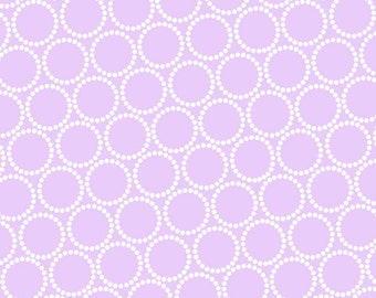 ON SALE - Mini Pearl Bracelets in Petal - Lizzy House for Andover Fabrics - A-7829-P3 - 1/2 Yard
