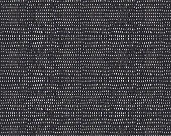 Spooky Town - Seeds in Black - Cori Dantini for Blend Fabrics - 112.110.05.1 - 1/2 Yard
