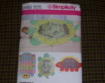 Rag quilt pattern etsy for Simplicity craft pattern 4993