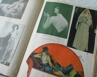 Rare SILENT SCREEN SCRAPBOOK Valentino Talmadge Reid Fairbanks Barrymore +++