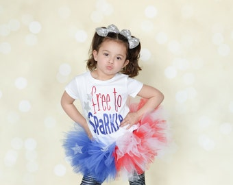 FREE TO SPARKLE 4th of July Set