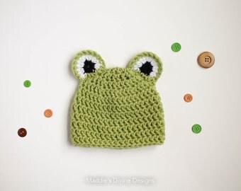 Baby Boy Hat Newborn Baby Boy Animal Hat Baby Boy Frog Hat Newborn Baby Boy Photography Prop Photo Prop