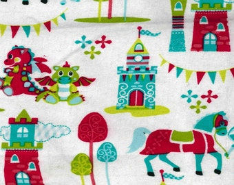 Snuggle Flannel Prints - Magic Kingdom - Sold by the Yard