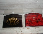 Two Etienne Aigner Purse/Travel Mirrors *Tortoiseshell* Classic Accessory