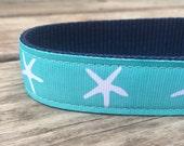 Sea Star Dog Collar 1 inch wide