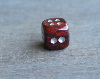 Red Jasper Stone Dice F15