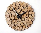 Zero Waste Decor Wall Clock, Eco Friendly Gifts, Reclaimed Rustic Wood Decor