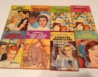 35 vintage harlequin romance books 1970s