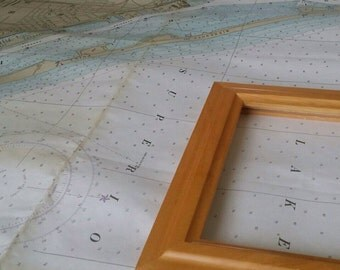 11x11 Custom | Map Picture Frame | CHOOSE YOUR LOCATION!