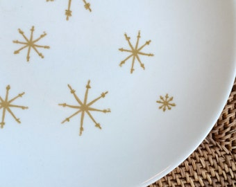 Star Glow Dinner Plates by Royal China, 1950s