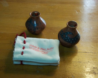 Set of 2 Lucy Mora Pottery
