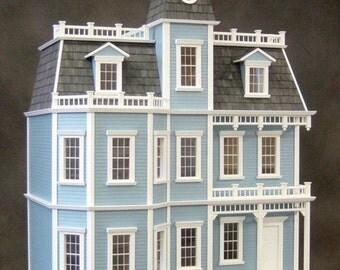 Chateau-sur-Mer, Wooden Dollhouse Kit, Scale One Inch