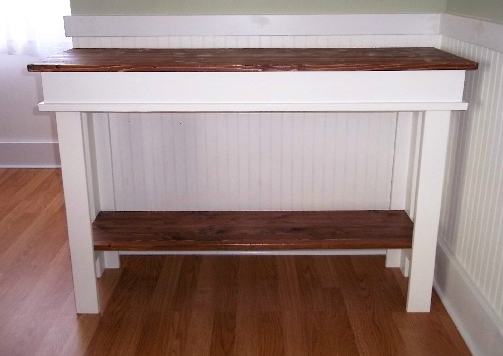 Farmhouse Console Table Furniture Side Table Entry Table