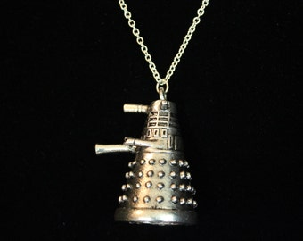 3D Dalek - Doctor Who inspired Necklace