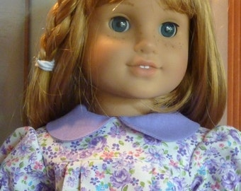 American Girl Historically Accurate Floral Dress Molly/Emily