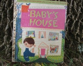 Vintage Little Golden Book Babys House 1950 Childs Book