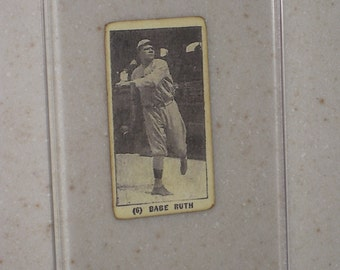 1928 f50 tharps ice cream babe ruth awesome vg card in a screwdown case i have very few of these