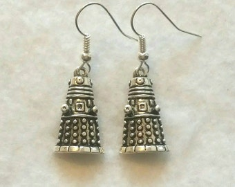 Doctor Who Dalek Earrings