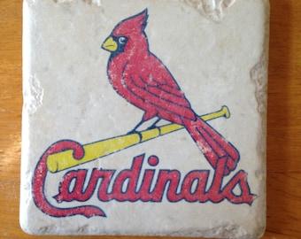 St. Louis Cardinals Coasters Set of 4