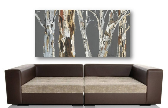extra large wall art print tree art rolled canvas by shoagallery. Black Bedroom Furniture Sets. Home Design Ideas