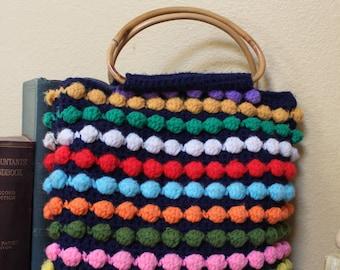 Colorful Knit Bag