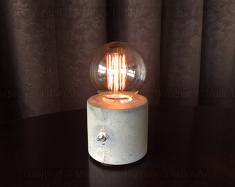Concrete Table Lamp New 2016