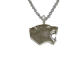 Puma Wild Cat Pendant Necklace