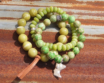 MN Charm Bracelet - Color: Gooseberry