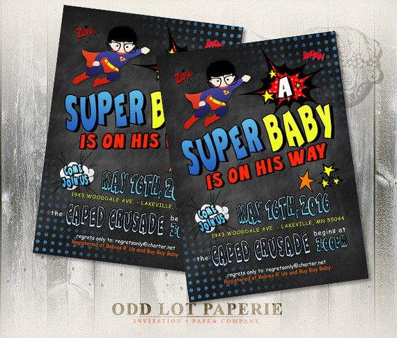 Superman Baby Shower Invitations is the best ideas you have to choose for invitation example