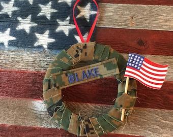 Military Name Tape Ornament