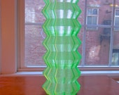 Three stackable 3D printed tea light holders