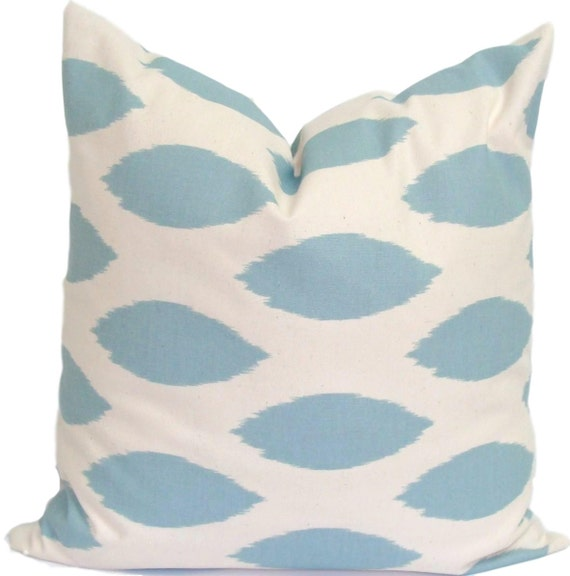 Common Decorative Pillow Sizes : Blue Decorative Pillows Blue Pillow ALL SIZES Blue Pillow
