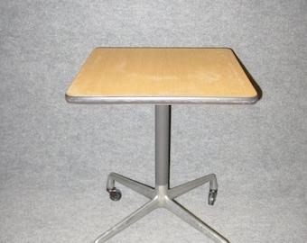 Charles Eames Herman Miller Aluminum Group Side End Task Table Mid Century Modern