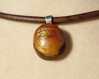 Mexican Fire Agate Pendant Was 80.00 on Sale 70.00