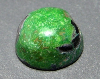 Northern Lights Mine Natural Turquoise Cabochon from Nevada, 3.93 ct.