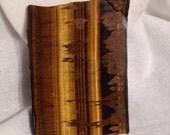 Vintage Tigereye Slab Cutting Rough Large Cabochon