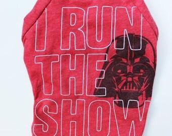 Upcycled Dog T-Shirt - Star Wars