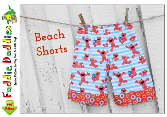 Boys Shorts Pattern pdf. Boy's Lounge Pants Pattern. Toddler Beach Shorts, Toddler Pants Pattern, Lounge pants, Ruffle Pants. Fuddie Duds