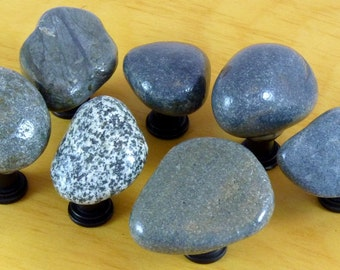 Seven Gray Rock Knobs