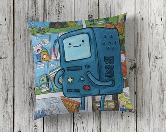 Decorative Pillow of BMO from Adventure Time