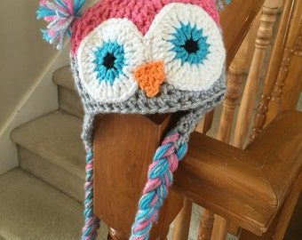 Ready to Ship: newborn crochet baby hat