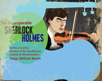 Sherlock Holmes Plays Mendelssohn