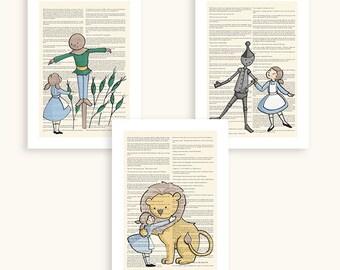 Gender Neutral Nursery - Wizard of Oz - Gender Neutral - Giclee art prints