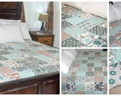 Queen Size Rag Quilt--Made to order quilt, Design your own Quilt, You pick the fabric quilt, Made the way you want quilt